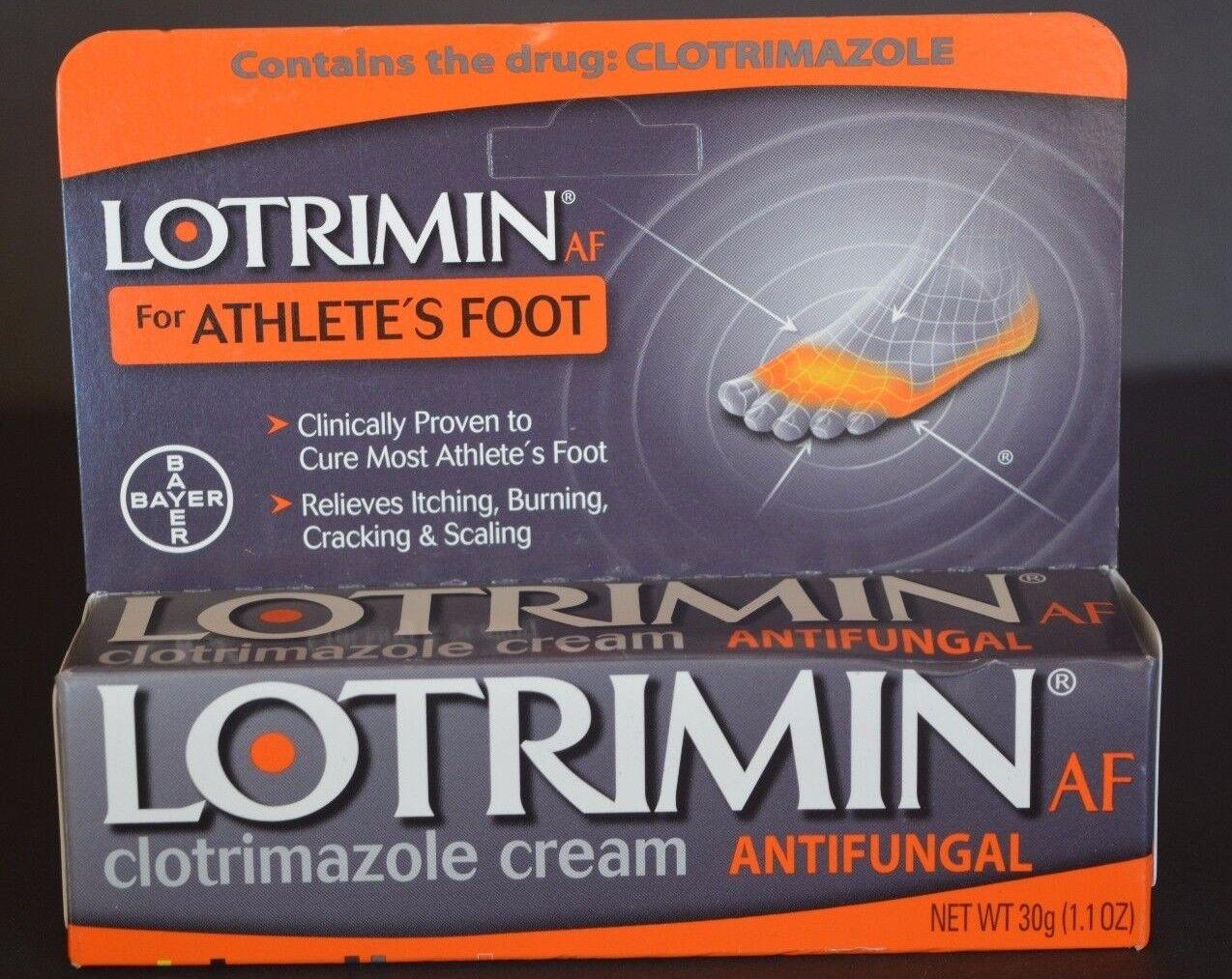 LOTRIMIN AF FOR ATHLETE'S FOOT ANTIFUNGAL  BAYER