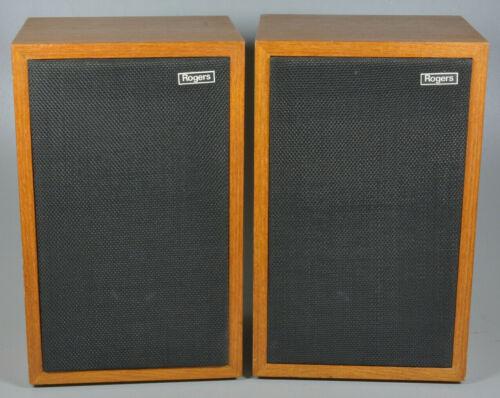 Rogers LS3/5A Monitor Stereo Speakers - Vintage England Originals - LQQK @ PICS