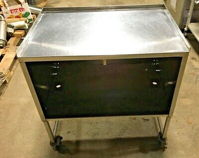 Prep Table Stainless Steel Portable Commercial Kitchen Work Table 36 X 38.5