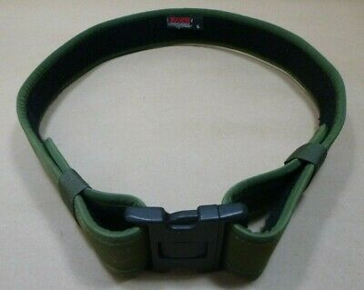Bianchi 7200 Accumold Green Law Enforcement Nylon Duty Belt 40-46 Large
