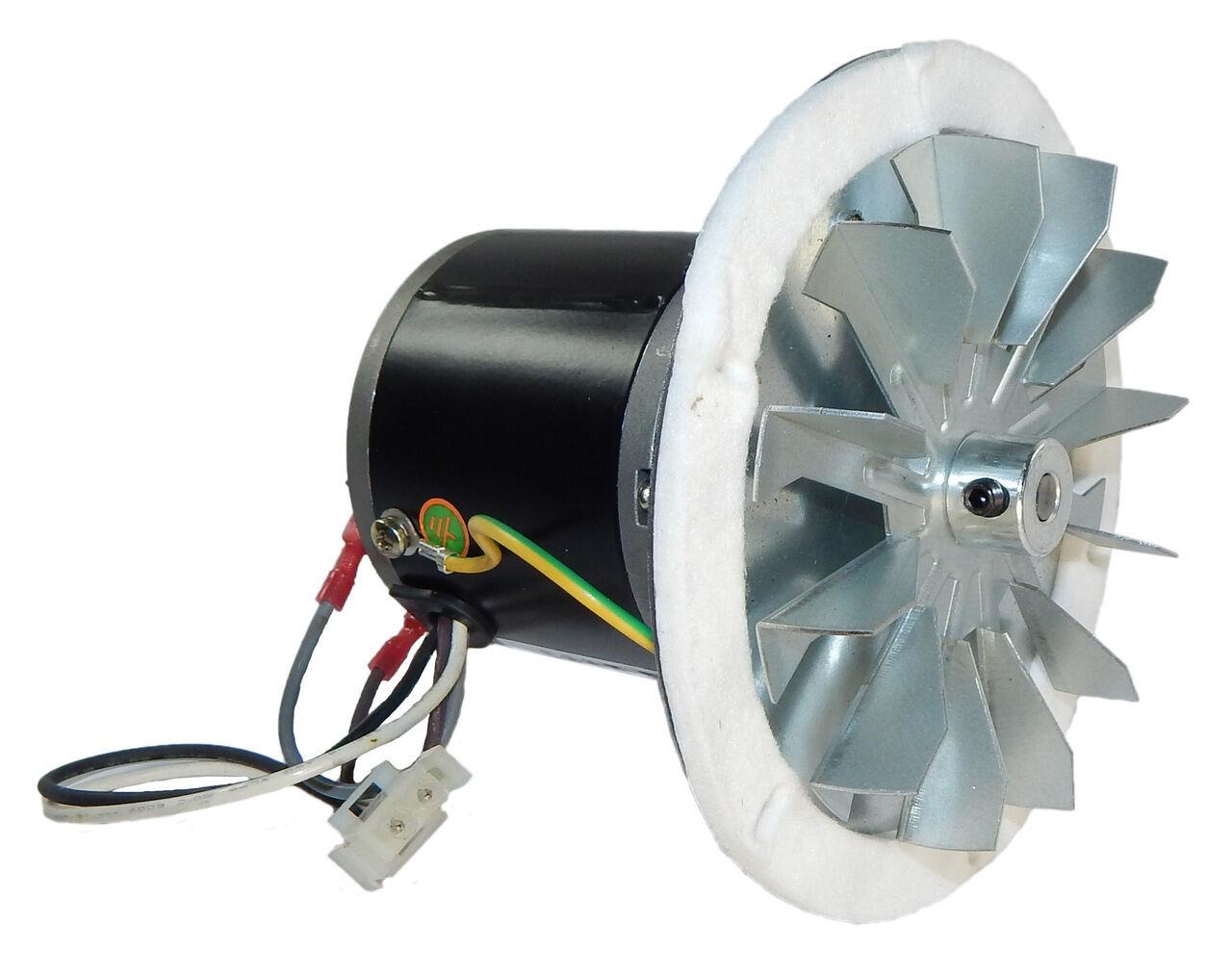 Pellet Stove Blower Motor 1/14 hp 3000 RPM 0.6 amps 115 Volt Rotom ...