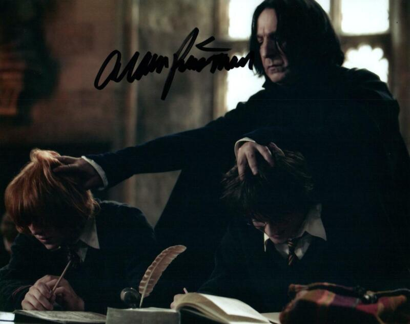Alan Rickman signed 8x10 Photo with COA autographed Picture very nice