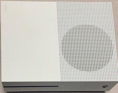 Microsoft Xbox One S 500GB White Console w/Power Cord Tested w/ Warranty