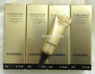 Chanel Sublimage Yeux 12 ml Augencreme (4x3ml) EYE -  Reisegröße ✔ - 4 Ml Eye