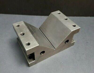 Anton Usa 4 Precision V Block 5x3 Machinist Fixture Grinding Vs-4 Milling