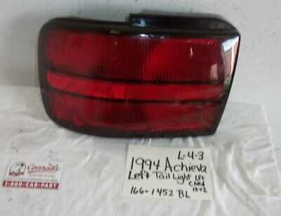 USED Oldsmobile Achieva 1994' LEFTSIDE TAIL LIGHT (DRIVERS QUALITY) Oldsmobile Achieva Driver