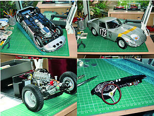 Building 1/8 scale classic cars from scratch CD