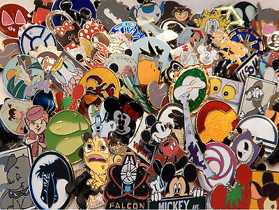 RANDOM DISNEY TRADING PIN LOT pick size (5,10,20,50,100 etc) $1.08 per pin