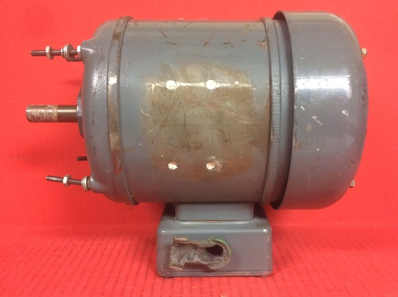 3 of 6 Hawker Siddeley Electric Motor Nr. T386996 - 1/2HP, 1720 RPM, 575V 4 of 6 Hawker Siddeley Electric Motor ...
