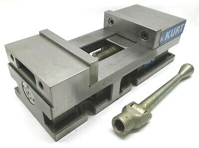 Kurt 6 Versatile Lock Precision Cnc Machine Vise W Jaws Handle - 3600v