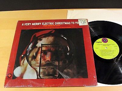 DOUGLAS LEEDY A Very Merry Electric Christmas CAPITOL ST-339 Stereo NM SHRINK!