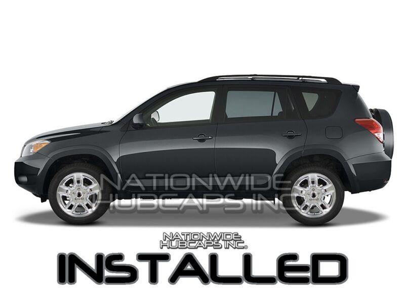 "Set of 4 Front and Rear Chrome 6 Spoke 18/"" Wheel Skins for 13-17 GMC Acadia SLE"