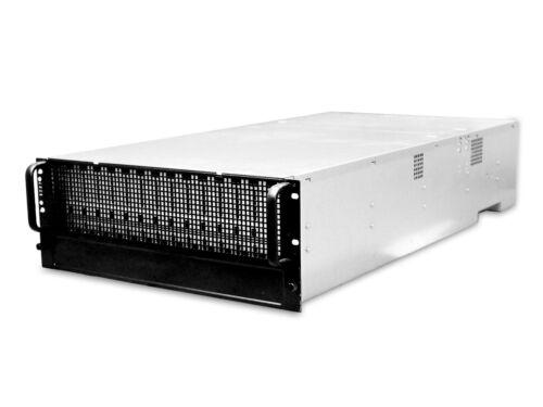 """AIC J4060-01 4U 60 Bay LFF 3.5"""" 12Gb/s External JBOD Storage Dual Expander Rail"""