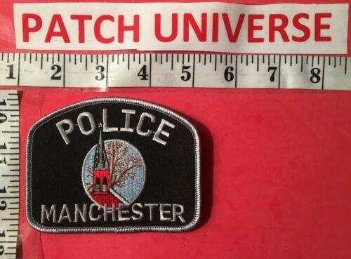 MANCHESTER MD POLICE  SHOULDER PATCH  S118