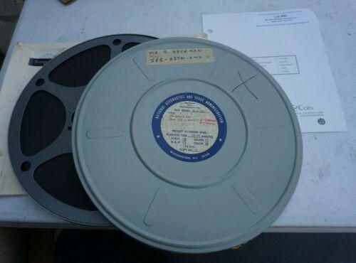 VINTAGE RARE NASA ORIGINAL 16mm FILM SKYLAB PROGRAM FOOTAGE DAY 221 SLS-085