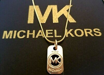 "Michael Kors Gold tone Necklace 18"" Worn in MK's 2019 Catalogue"