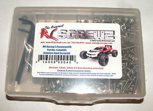 HPI RACING E-FIRESTORM  RC SCREWZ SCREW SET STAINLESS STEEL HPI045