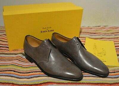 PAUL SMITH JOHN LOBB shoes leather Willoughby Pebble Grey UK 6