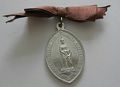 1912/3      OLD MEDAL STe ANNE OF ST GERARD Aluminium     14