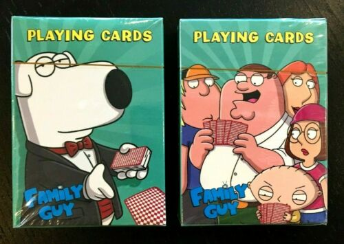Family Guy 2 Decks of Playing Cards - FOX Adult Cartoon TV Series