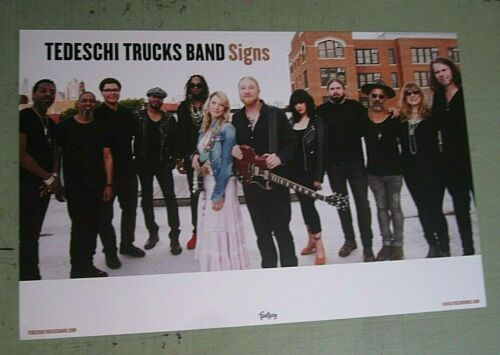 Tedeschi Trucks Band Double Sided Signs Promo Poster