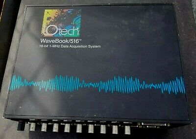 Iotech Wavebook 516 16-bit 1-mhz Data Acquisition System