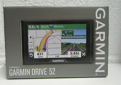 "Garmin Drive 52 5"" GPS Vehicle Navigation System 010-02036-06 BRAND NEW"