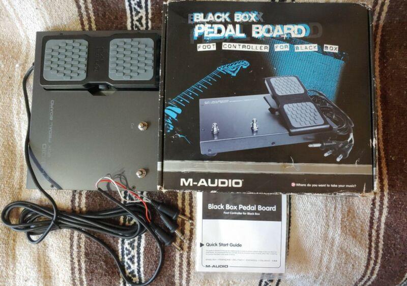 M-Audio Black Box Pedal Board Foot Controller for Black Box