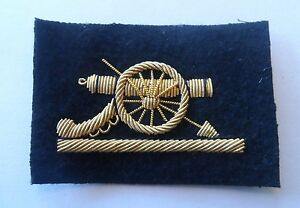 Royal-Artillery-SNCO-Gun-Mess-RA-Sleeve-Army-New-Gold-Black