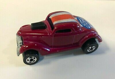 vintage 1975 Hot Wheels Flying Colors FORD NEET STREETER with black walls