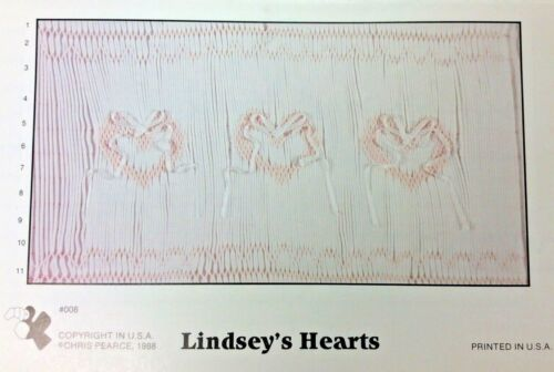 FANCY STITCHES SMOCKING PLATE #008 LINDSEY
