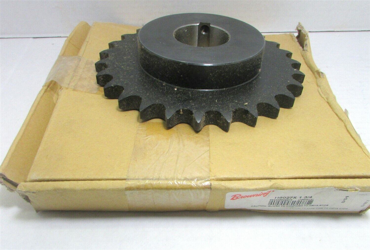 26 Teeth Regal Hardened Teeth Single Strand Browning H8026X 1 7//16 Finished Bore Roller Chain Sprocket Steel