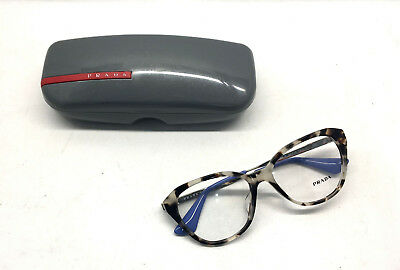 AUTHENTIC! Prada VPR 28S-F UAO-1O1 Women Eyewear Optical Frame DEMO Lenses BB15