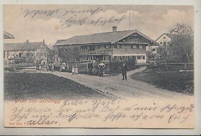 77086- Gruß aus Schönegg bei Dietramszell Landkreis Bad Tölz-Wolfratshausen 1903 online kaufen