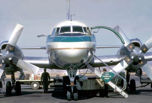 """Frontier Airlines Convair 580 ((8.5""""x11"""")) Print"""