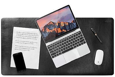 Oficik Desk Blotter Pad Premium Pu Leather Desk Pad. Desk Mat Protector