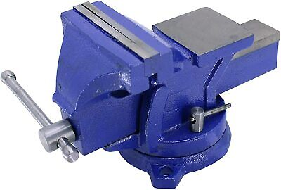 4 Bench Vise With Anvil Swil Locking Base Table Top Clamp Heavy Duty Steel