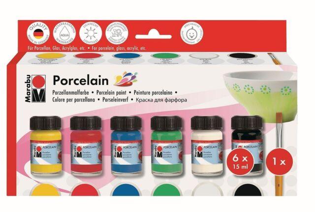 Marabu Porcelain - Ceramic Painting Set - Assortment ( 110500087 )