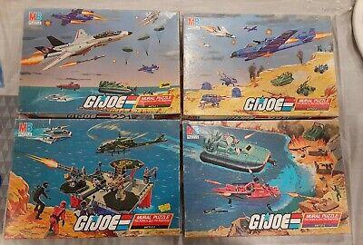 GI Joe 1985 Mural Puzzle Battles 1-4