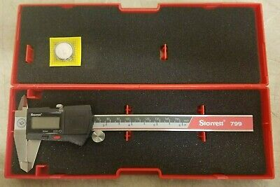 Electronic Caliper Starrett 0-6 Ec799a-6150 Edp 00142
