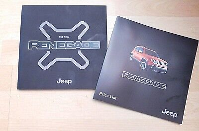 Jeep Renegade Brochure 2015 / 2016 ( Sport + Longitude + Limited + Trailhawk )