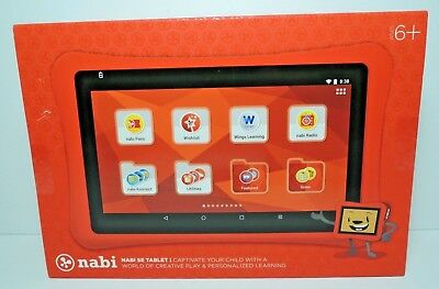 "Nabi se Tablet 7"" Kids Tablet 16GB WiFi Android NEW FACTORY SEALED FREE SHIPPING"