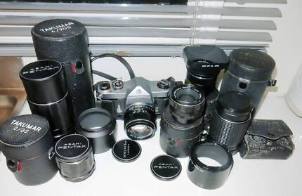 M42 Lenses for 4/3M ,NEX,Nikon,Canon cameras,Pentax cameras South Yarra Stonnington Area Preview