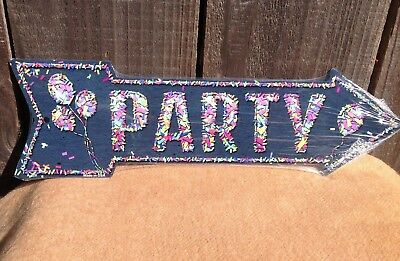 Party Wholesale This Way To Arrow Sign Directional Novelty Metal 17