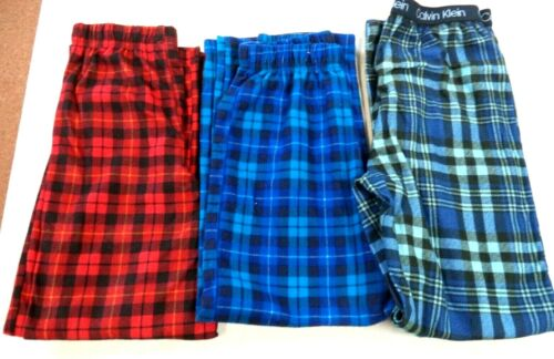 LOT OF 3 2-MED 8 1LG 10/12 FADED GLORY & CALVIN KLEIN PAJAMA PANTS!!! #18