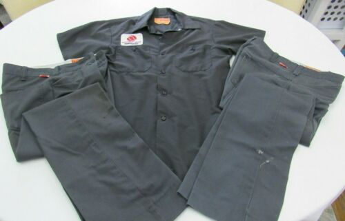 Vintage NORTHWEST ORIENT Airlines MAINTENANCE Mechanic Shirt and 2 Pants