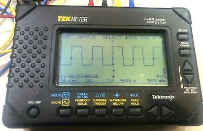 Tektronix Scope Tekmeter Thm560 Carrying Case Accessoriesmanual Truerms