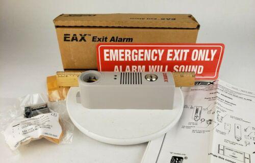 Detex EAX-500 XW Gray Exit Door Alarm 9V Commercial Surface Mount 100 db