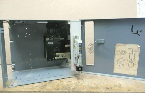 "Square D Model 4, 30 Amp FAL Breaker, 480 Volt, 12"", MCC Feeder Bucket- MC123"