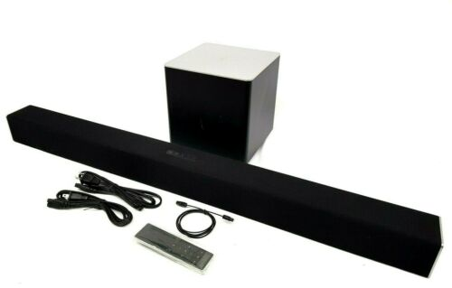 VIZIO SB3821-D6 Sound Bar and Wireless Subwoofer,  with Bluetooth